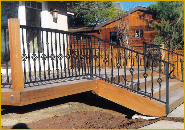 Ornamental Wrought Iron For Riverside Homes